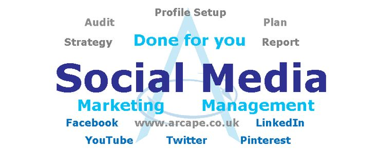 We offer a wide range of social media marketing services.  Arcape's social media marketing services policy stand firmly on 3 pillars: the marketing-centred approach, the delivery of social media results, and the respect for social media etiquette.
