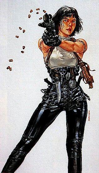 Female Solo  Cyberpunk 2020