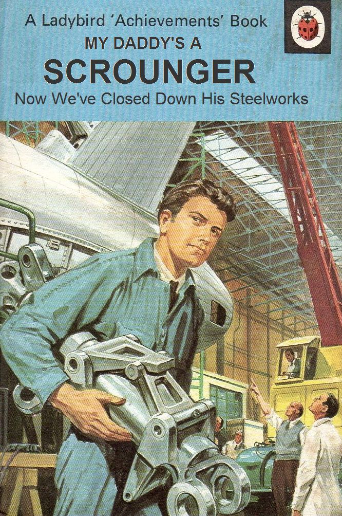 Image Result For Spoof Ladybird Books