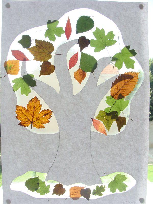 Des arbres avec des vraies feuilles ! - ribambelles