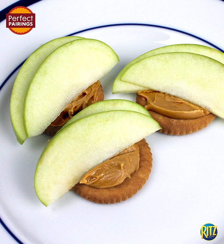 Can't go wrong with a classic snack like apple…
