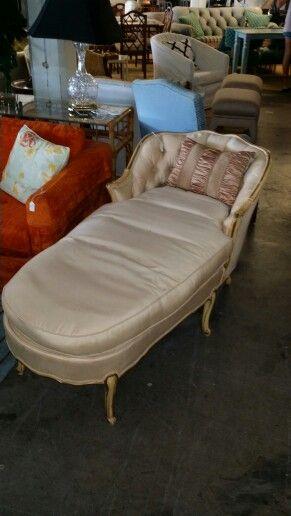 Vintage chaise at Jasper Kane