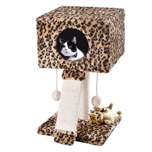 Cat Tunnel Expandable Cat Tree For Kitten Cats Tower Bed Condos