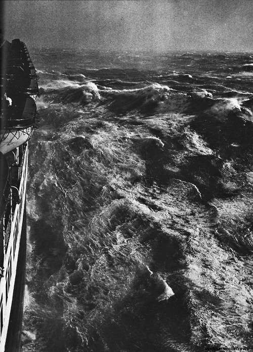 Hurricane in the Atlantic by Alfred Eisenstaedt
