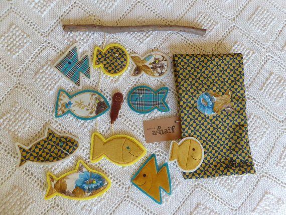 Fishing Game  for fun and learning Yellow Sea