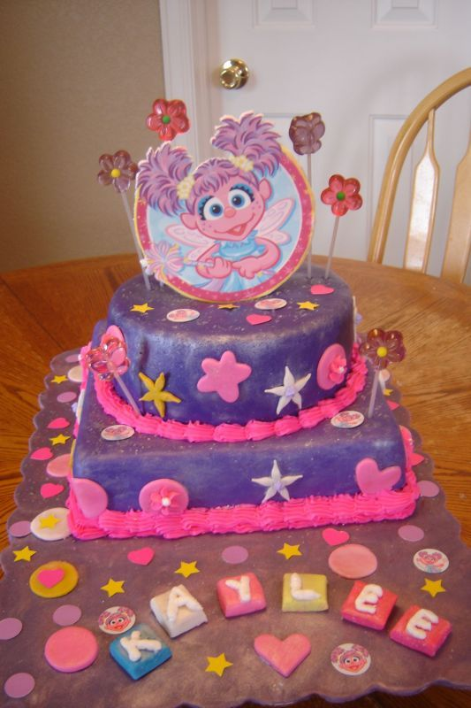 Abby Cadabby Birthday Cake and Cupcake Decoration Ideas ...