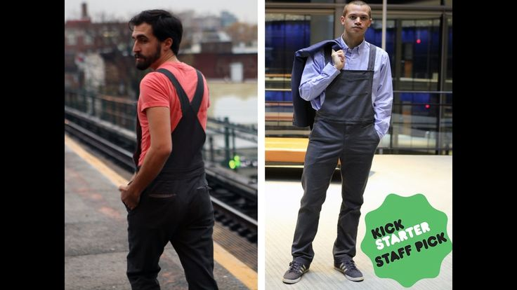 Rousers: Overalls for the Modern Urban Man by The Rousers Guys —Kickstarter