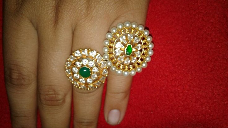 Rajputi jewellery ring by kuldeep singh
