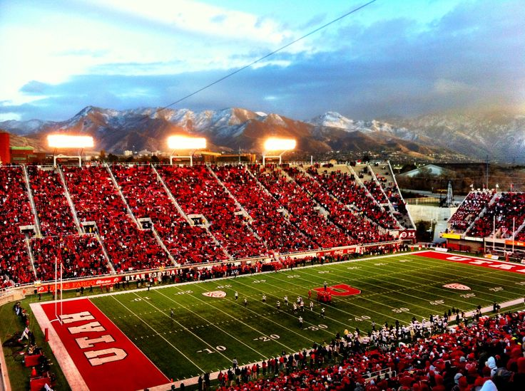 University of Utah Football game.... Done!
