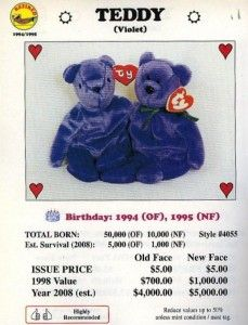Those 1998 estimates of how valuable Beanie Babies would be now were slightly off...