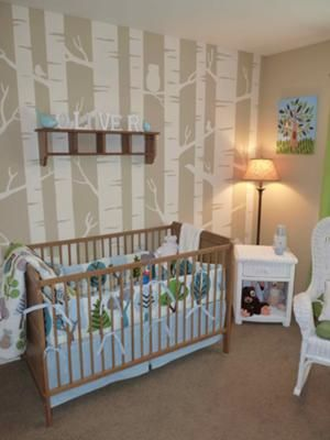 find this pin and more on nature baby themed rooms - Baby Themed Rooms