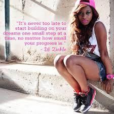 great advice dj zinhle...cute outfit
