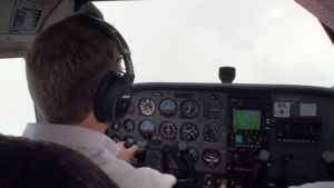 Video tip: flying by the instruments  During your private pilot training youll need to log at least 3 hours with your instructor flying the airplane solely by reference to the instruments typically while wearing a hood or view-limiting device. The goal isnt to make you proficient in instrument flying but rather to help you developthe basic flying skills to return to VFR weather should you accidentally fly into a cloud or low visibility conditions.  This weeks tip takes a look at the…
