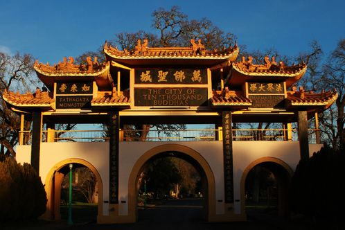 City of Ten Thousand Buddhas, Talmage, CA