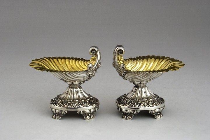 Pair of salts in Louis Phillipe style, Lyon