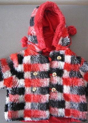 Kaufe meinen Artikel bei #Mamikreisel http://www.mamikreisel.de/kleidung-fur-madchen/outdoorbekleidung-jacken/38921168-coole-karierte-vintage-winterubergangsjacke