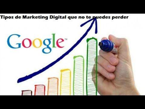 Tipos de Marketing Digital que no te puedes perder #MarketingDigital #DigitalMarketing #marketing