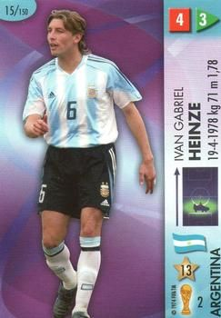 2006 Panini Germany World Cup #15 Ivan Gabriel Heinze Front
