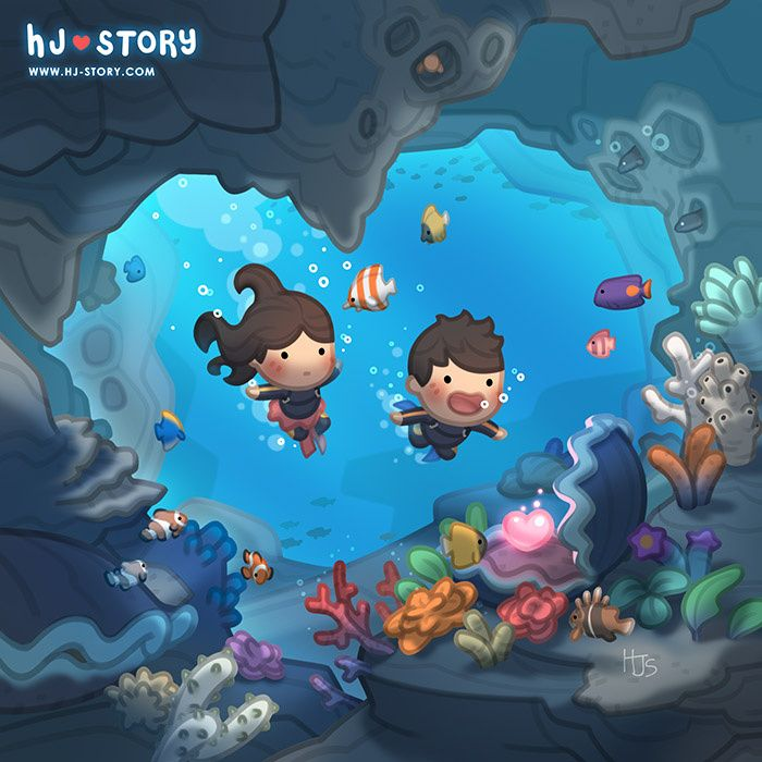 HJ-Story :: Love Pearl   Tapastic Comics - image 1