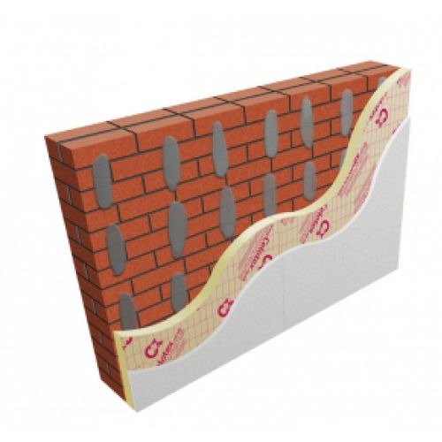 60mm Celotex GD5060 PIR Insulation Board with 9.5mm Plasterboard (pack of 16)