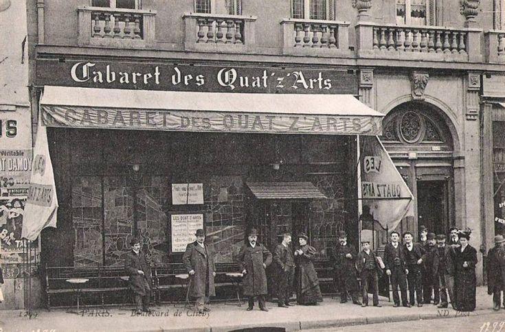 Les cabarets du Paris d'antan Les quat'z arts