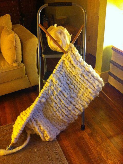 Giant Knit Blanket Pattern : Giganto-blanket Crochet & Knitting Pinterest
