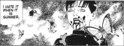 Dark bloody anime manga boy Guro, suehiro maruo