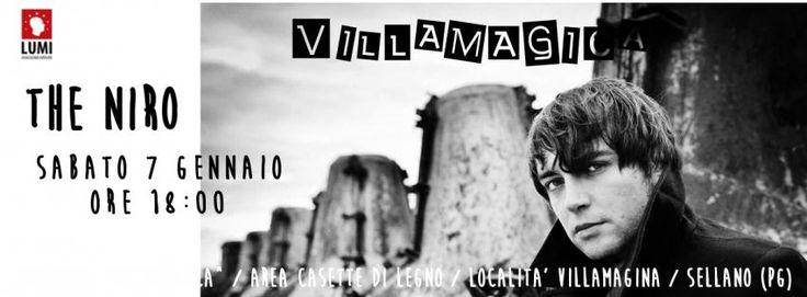 The Niro a Villamagina di Sellano per un concerto pro terremotati