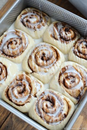 These vegan 1 hour cinnamon rolls are the best I have ever had.