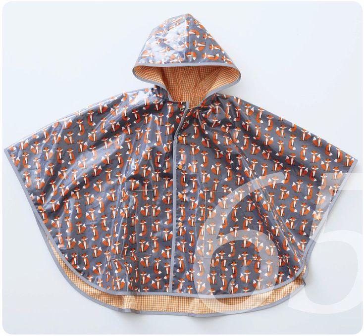 Regenponcho Für Kinder