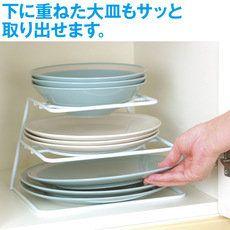 えつこのニュープレートラック 通販 【ニッセン】 キッチン収納 すき間収納・デッドスペース収納