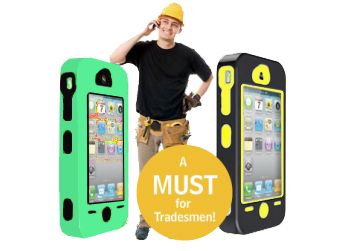 Cellsafe® Silicone Dual Layer TOUGH CASE for iPhone 4&4S