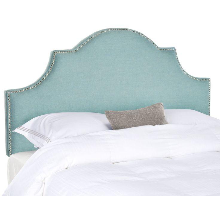 safavieh hallmar king upholstered headboard