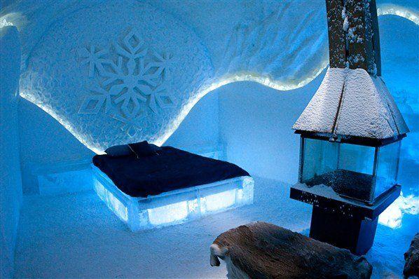 Hotel de hielo - Quebec