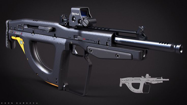 Weapons on Behance