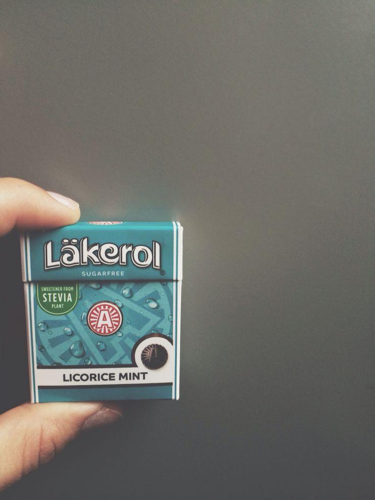 Licorice mint - läkerol