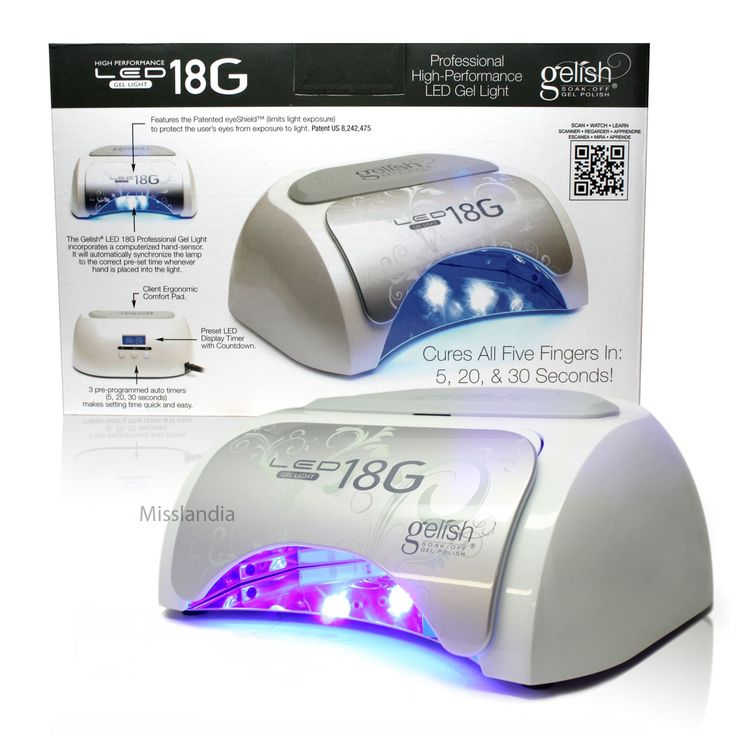 Harmony Gelish Acrylic Gel Nail Light 18G LED Lamp Manicure Timer Salon Dryer. Enriched formula fortifies & repairs damaged nails. Great for people who are trying to repair and grow our their nails from acrylic use. All of the benefits of STRENGTH, but a thicker formula for weak and brittle nails. Also includes and extra dose of vitamins!