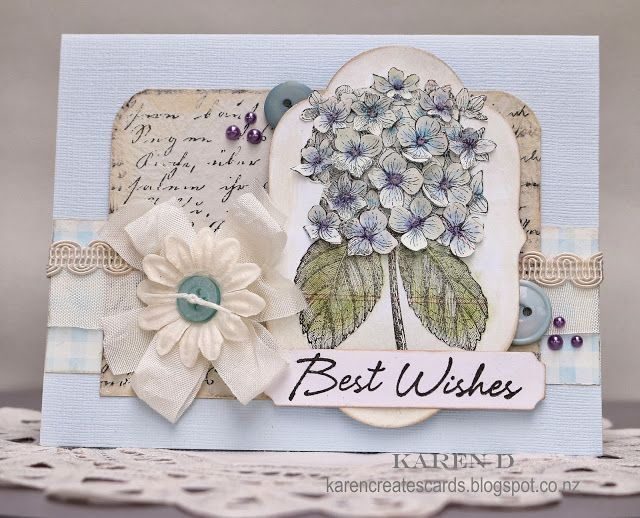 Karen Creates Cards: The Shabby Tearoom Challenge #187 - Sketch This