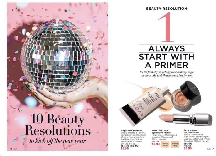 #Resolutions #Primer Shop AVON online www.ILoveMyJobEveryday.com #AvonLadyLorrie #ilovemyjobeveryday