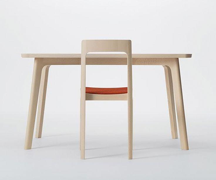 Hiroshima series table and chair, by Naoto Fukasawa