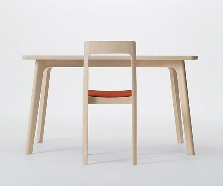 Hiroshima series table and chair, by Naoto Fukasawa