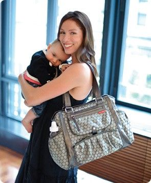 Has tests & reviews of the 14 most popular/top-rated diaper bags. I definitely need a new one before baby #2 arrives... how will all that stuff fit?!