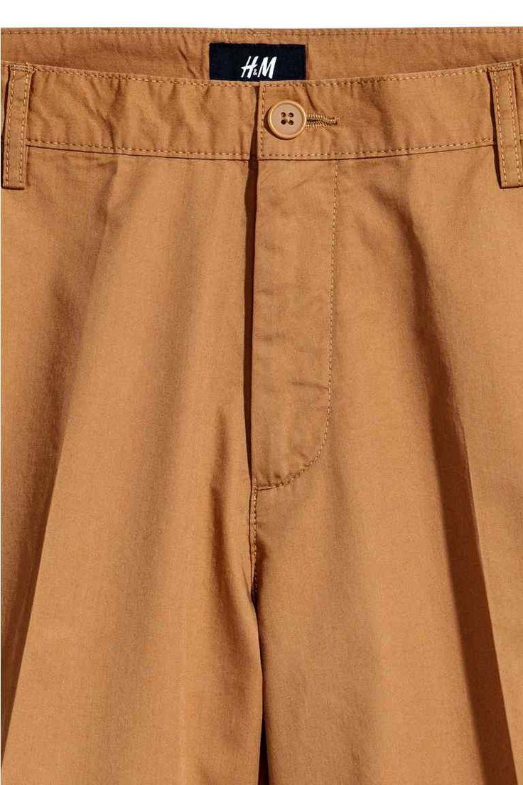 Shorts chinos corti - Cammello - UOMO   H&M IT