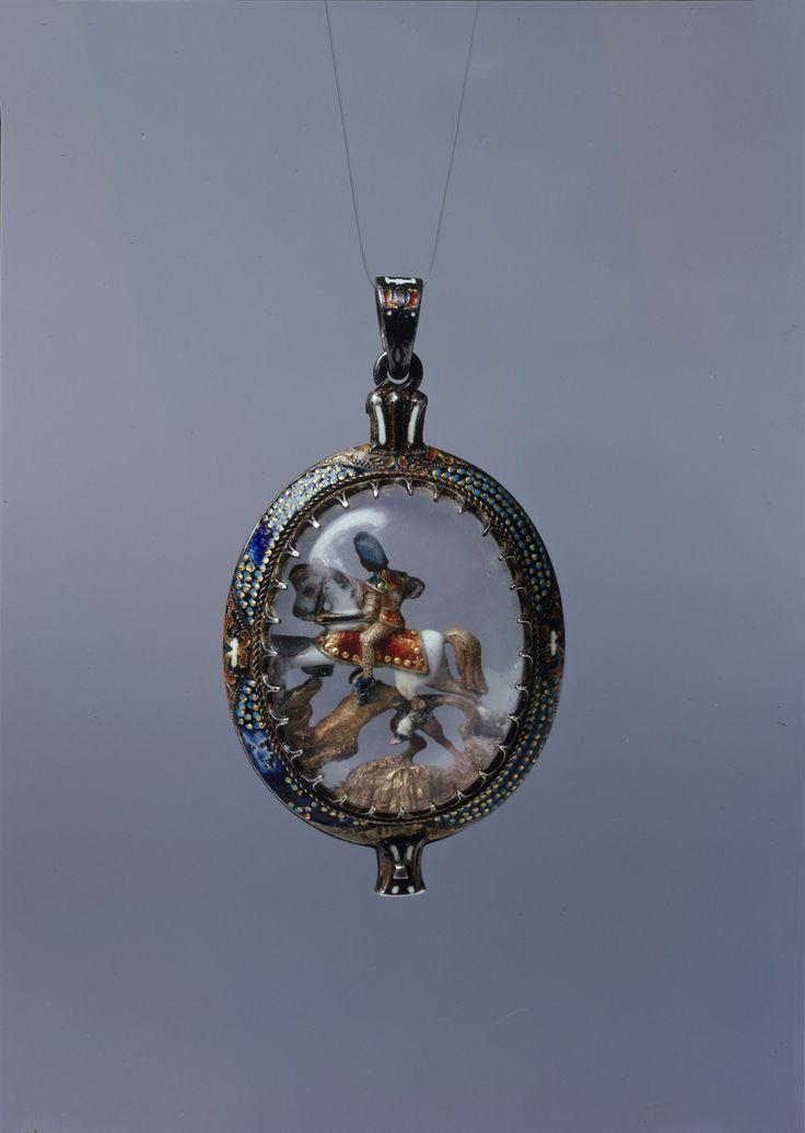 Medaillon mit Sankt Georg | Bildindex der Kunst & Architektur