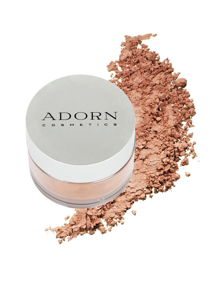 Available in natural, seasonal shades - there is a colour to suit everyone - including the guys!  Adorn's toxic free, bronzer can be used to contour the face, neck and body creating the illusion of darker skin or on the cheeks as a blush.  Not sure which shade?  Try our Virtual Colour Matching Serivce or purchase a sample!