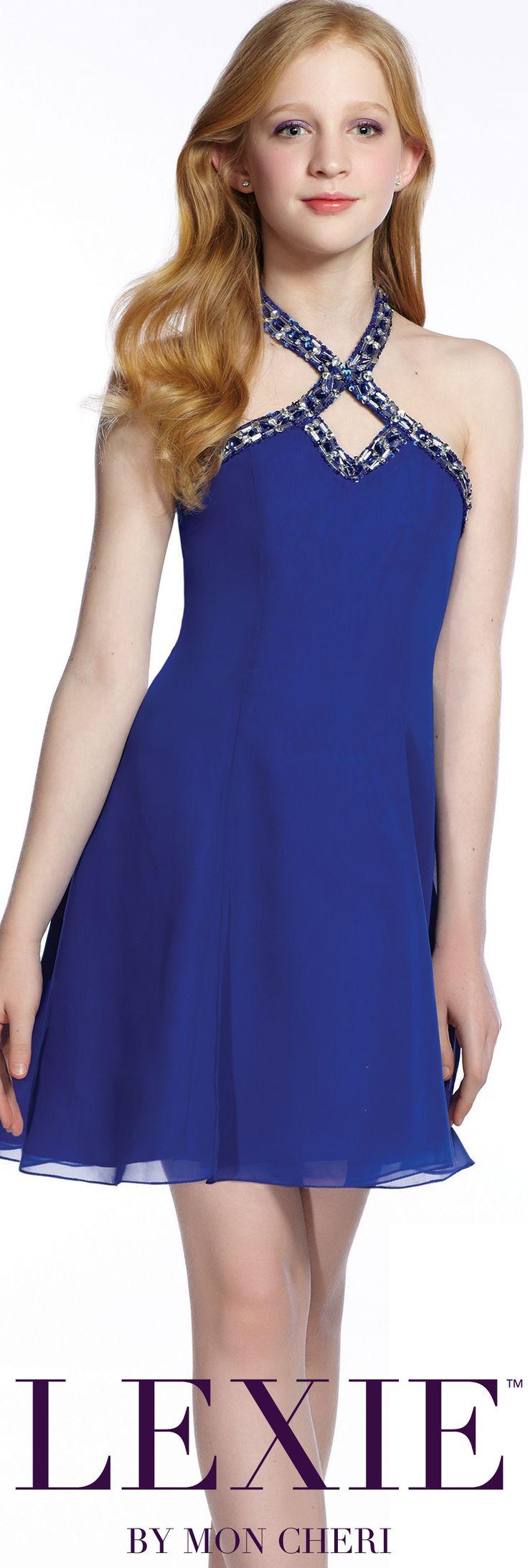 Lexie by Mon Cheri - Tween Formal Dress - Style No. TW21541 moncheriprom.com #8thGradeFormalDress
