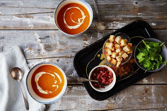 Roasted Tomato BLT Soup, a recipe on Food52