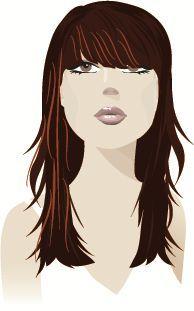 PearVirtualLife  Long hair option for Pear shaped face