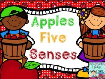 FREE Fun Freebie with 5 mini-posters and 5 printables. Describe apples using your five senses (hearing, sight, smell, touch, and taste). These posters are great aids for a discussion of using words to describe apples. This is such a fun mini-set for an apple theme.