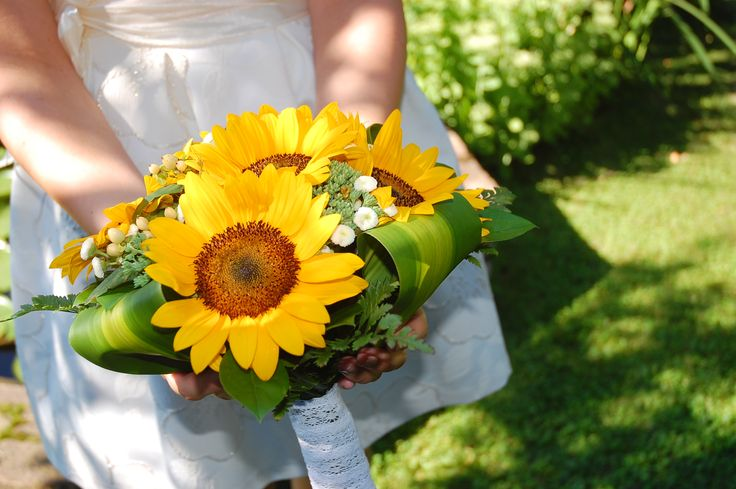 #summer #yellow #sun #sunflower #wedding